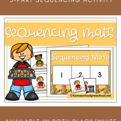 Gingerbread Sequencing Mat