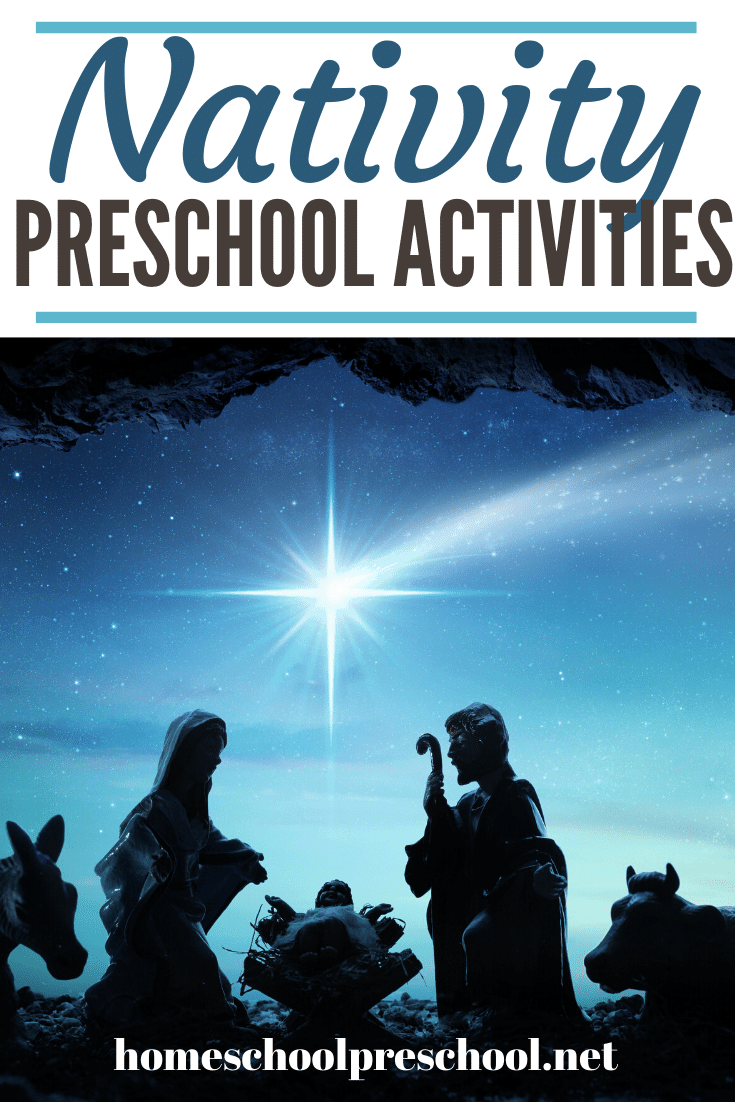 Excellent nativity activities for kids! Find crafts, printables, book lists, and more. Come on over to discover them all!