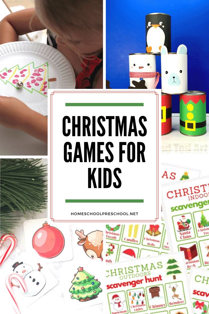 These Christmas games for preschoolers are just what you need to engage your little ones this season. Find bingo, scavenger hunts, and more!