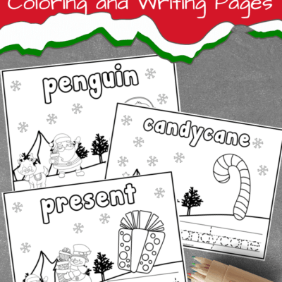 Christmas Preschool Coloring Pages