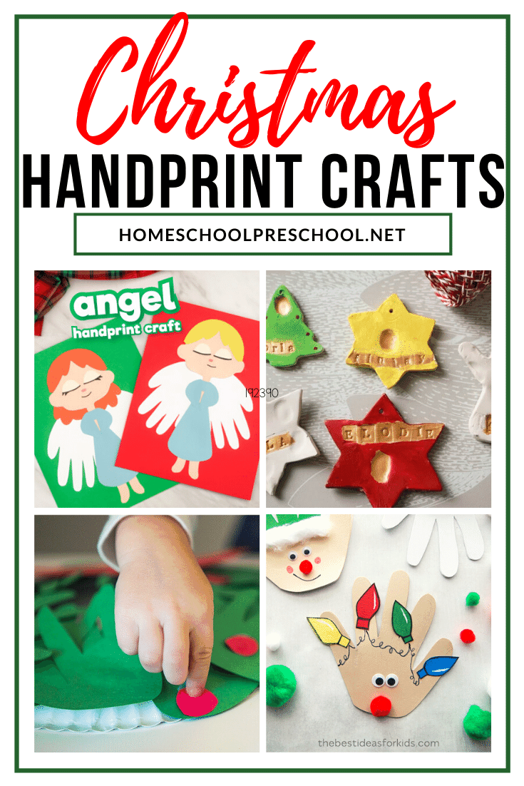 If you love handprint keepsakes as much as I do, you're going to love these Christmas handprint crafts! They're perfect for toddlers and preschoolers.