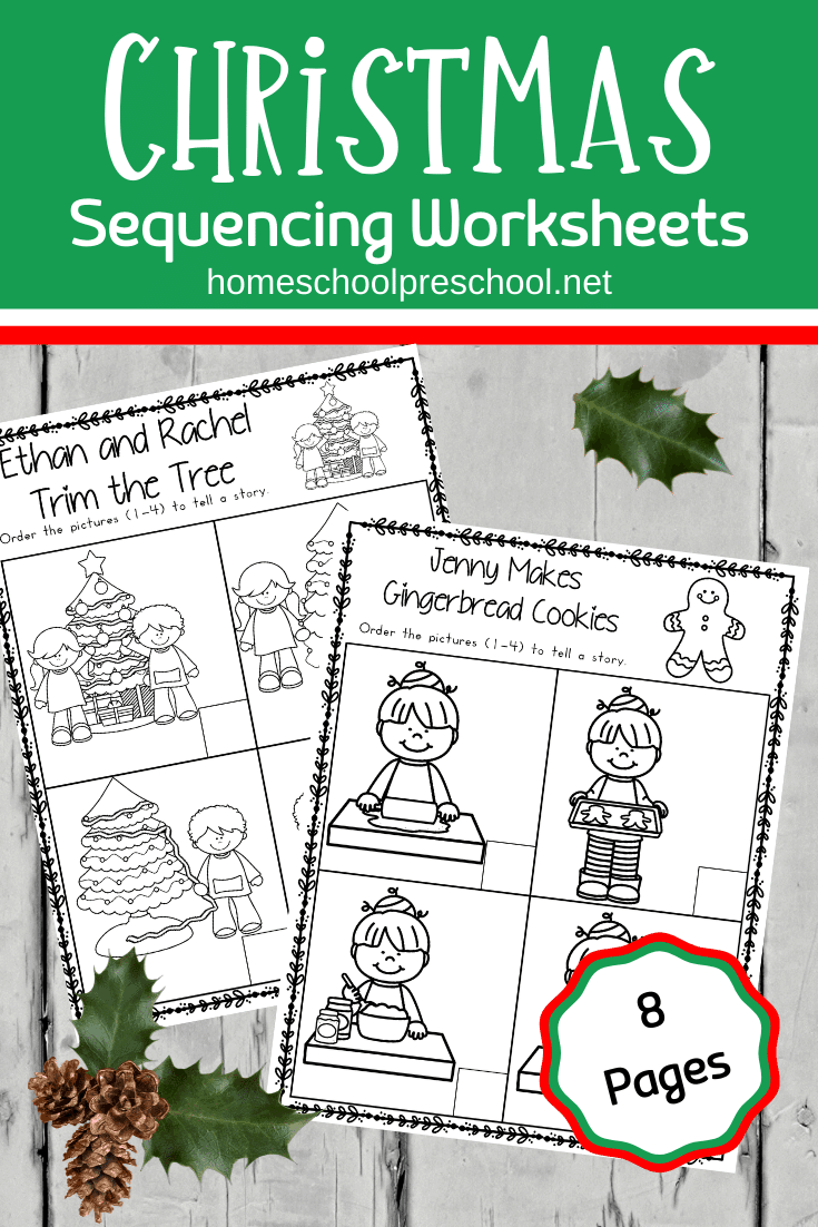 This Christmas sequence worksheet pack is perfect for the upcoming holidays. Young learners will sequence and retell Christmas stories.