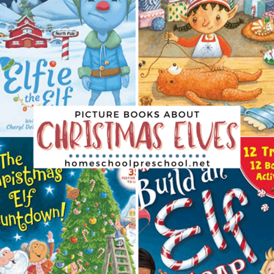 Elf Picture Books for Christmas