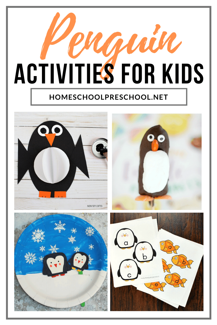 This winter, don't miss these fun penguin activities for preschoolers! Discover penguin-themed crafts, printables, snacks, and more!