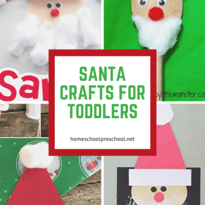 Santa Crafts for Toddlers