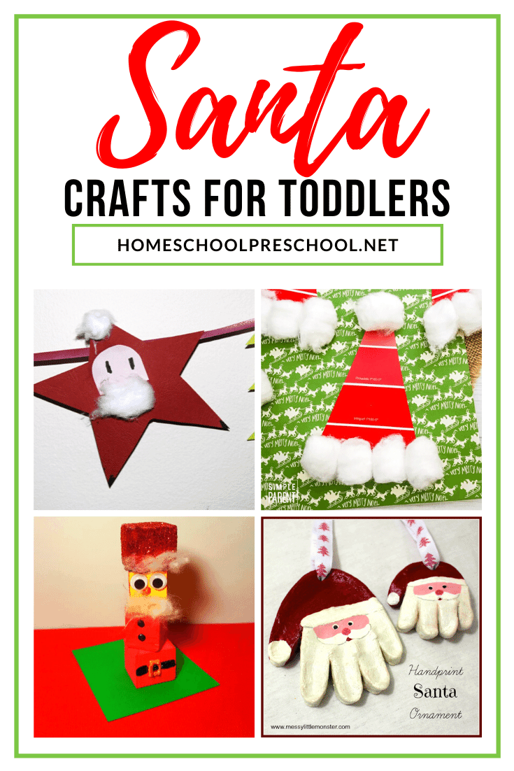 You don't want to miss these simple Santa crafts for toddlers! They're perfect for little ones to create and display throughout the holiday season.