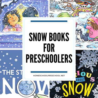 Snow Books for Preschoolers