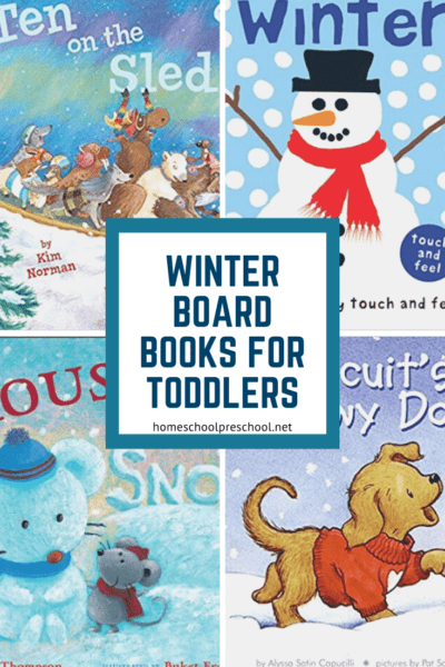 Snuggle up with these winter books for toddlers! Featuring snowmen, arctic animals, winter activities, and more! Perfect for cold winter days.