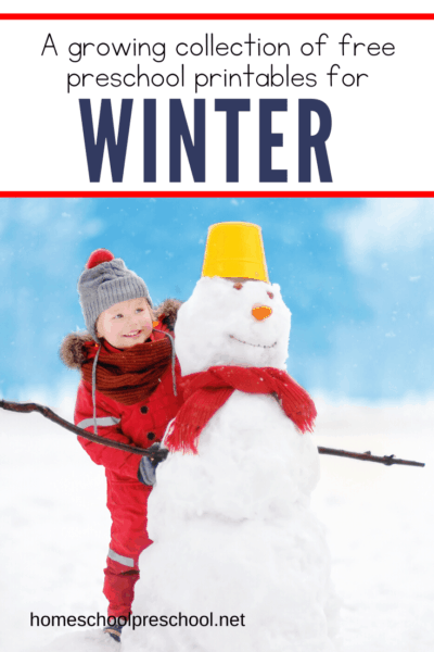 Looking for something fun to do with your preschoolers? Thesefree winter printables for preschool are just what you need to teach your little ones this season.