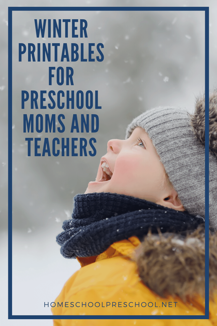 Looking for something fun to do with your preschoolers? These free winter printables for preschool are just what you need to teach your little ones this season.