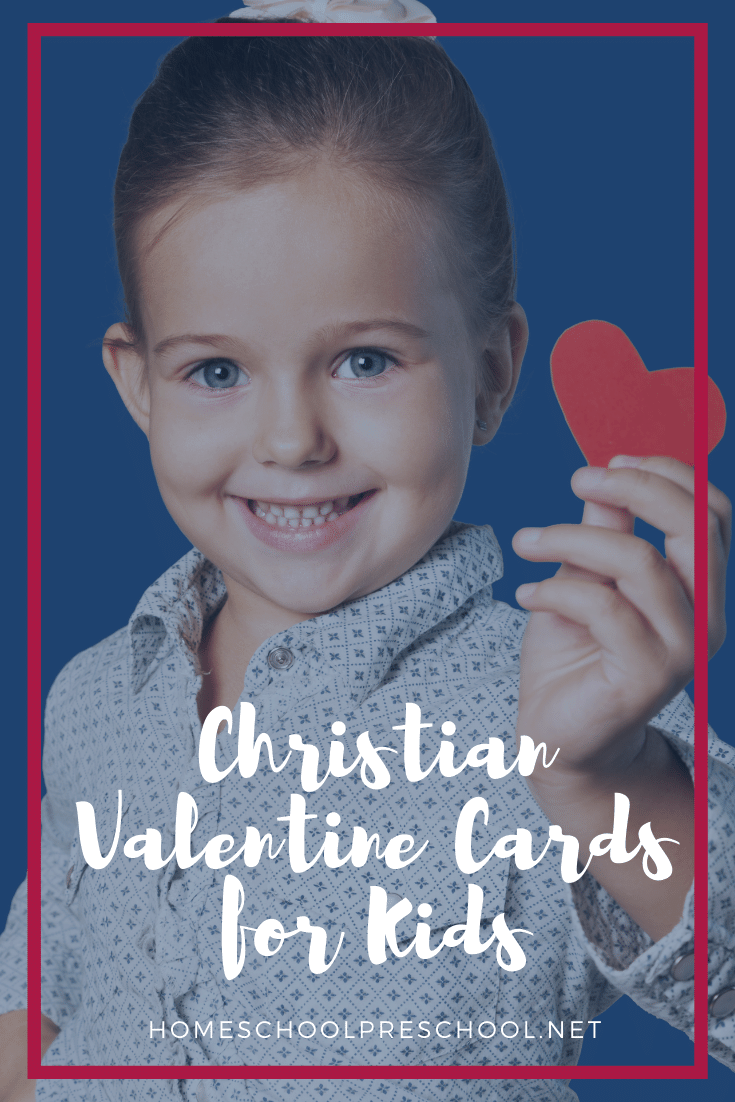 These Christian Valentine cards are a great way to teach your preschoolers about God's love this Valentine's Day! Perfect for home and Sunday school.