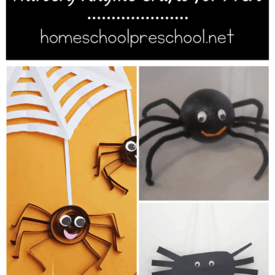 Itsy Bitsy Spider Crafts for Preschoolers