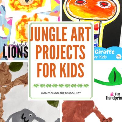 Jungle Art Projects for Preschoolers