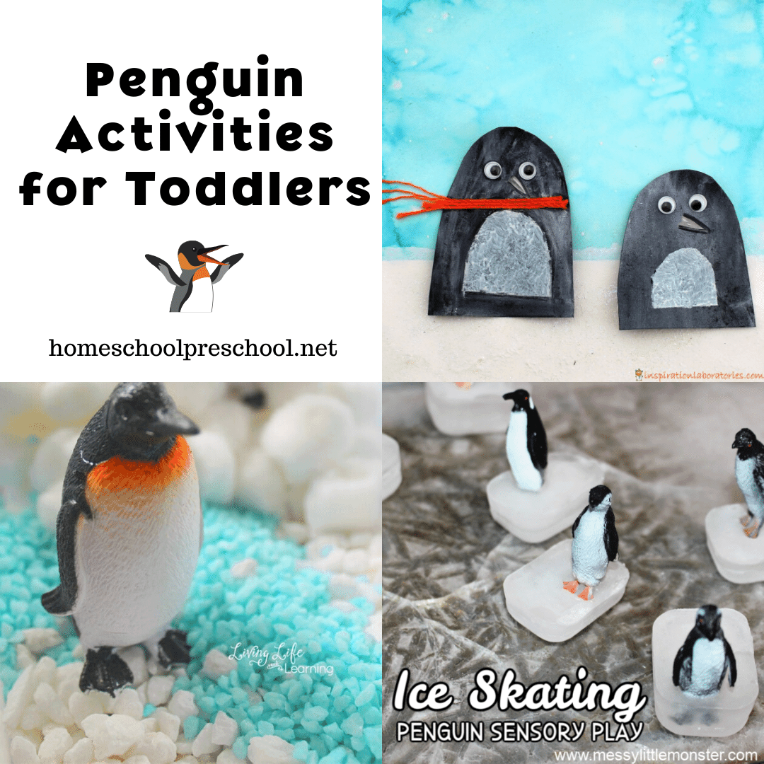Even your youngest learners will enjoy this amazing collection of penguin activities for toddlers. They're perfect for your winter lessons!