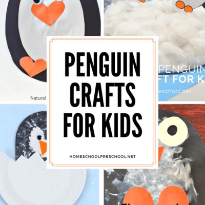 Penguin Crafts for Preschoolers