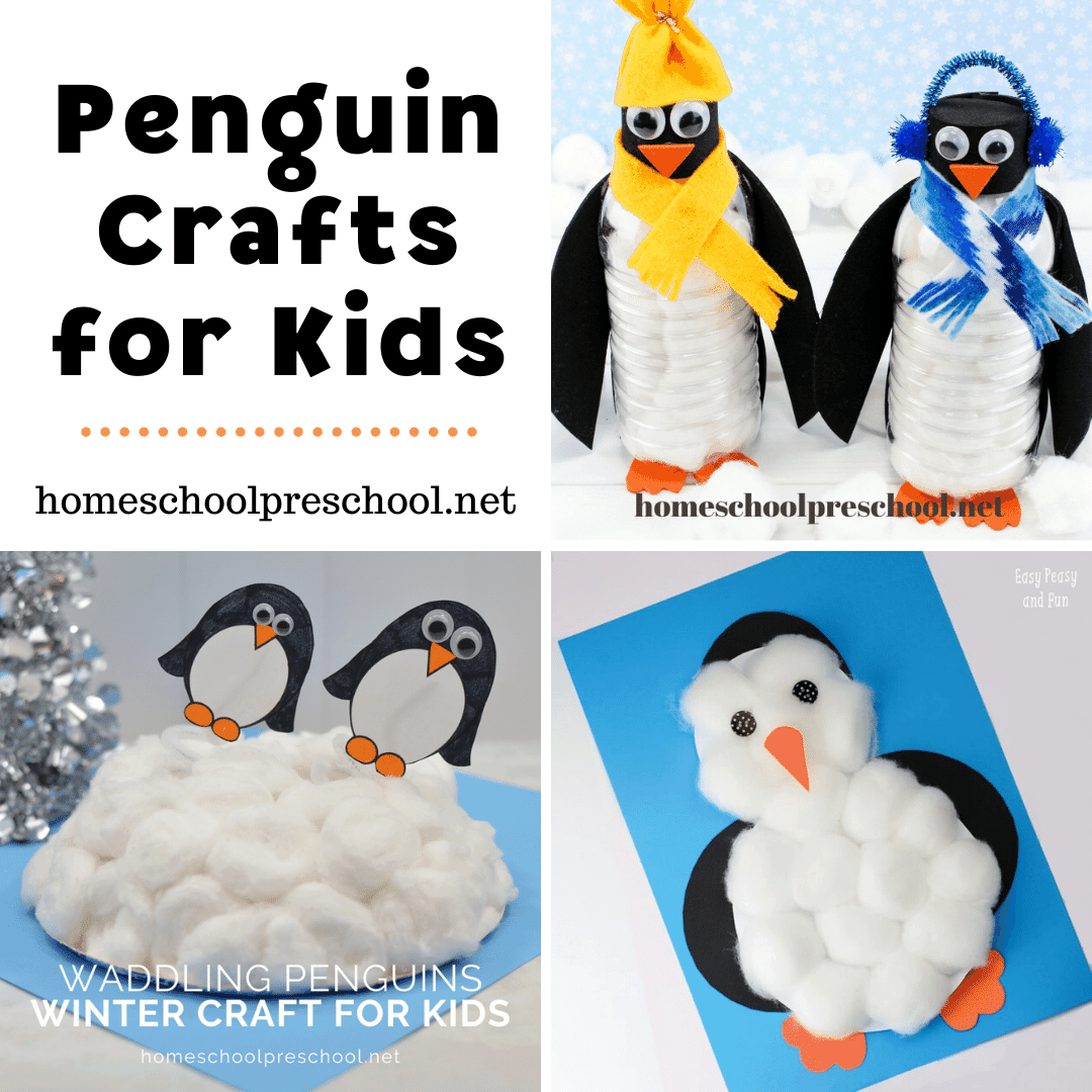 Penguins are so much fun to learn about. These penguin crafts for preschoolers make a great addition to your penguin lesson plans.