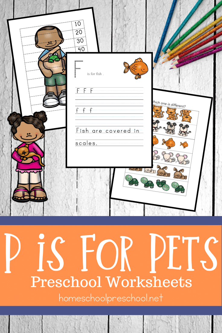 Looking for a new printable pack to use with your preschoolers? Don't miss these pet activities for preschool! Fun math and literacy activities.