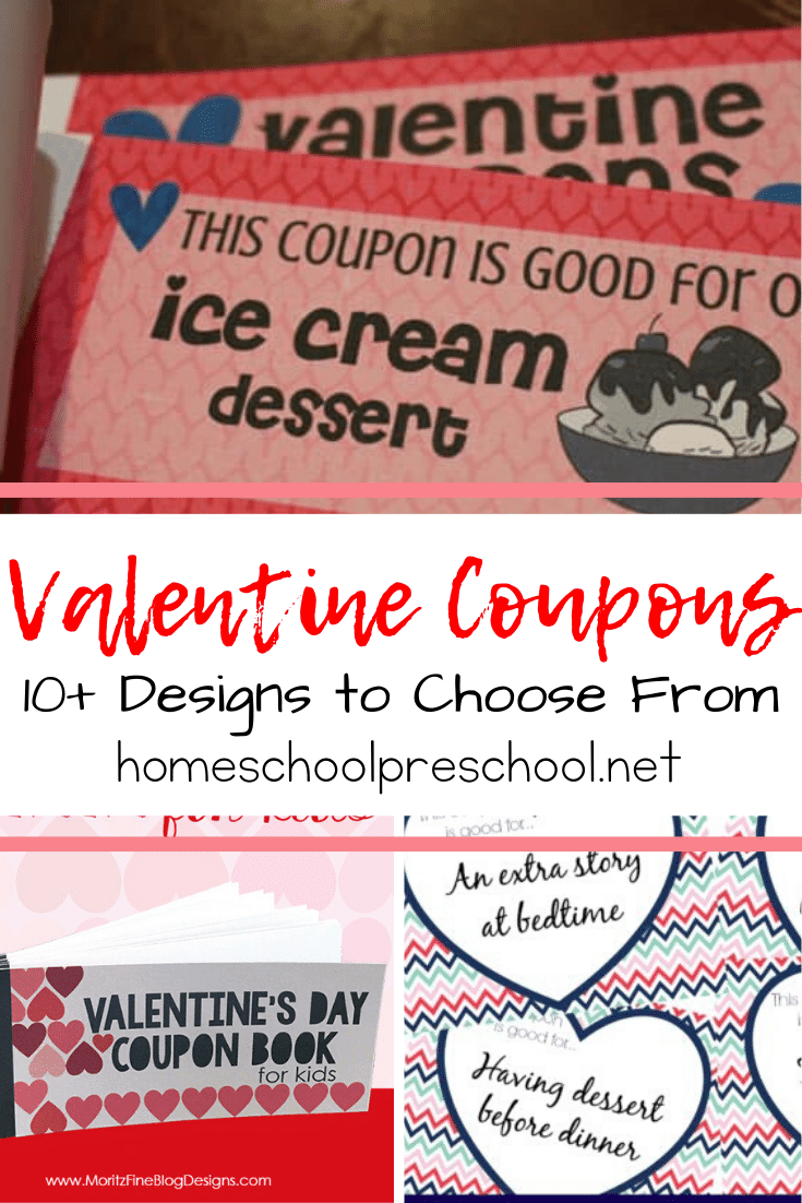 This Valentine's Day, make your kids feel extra special with printable Valentine coupons good for treats, later bedtimes, and more!