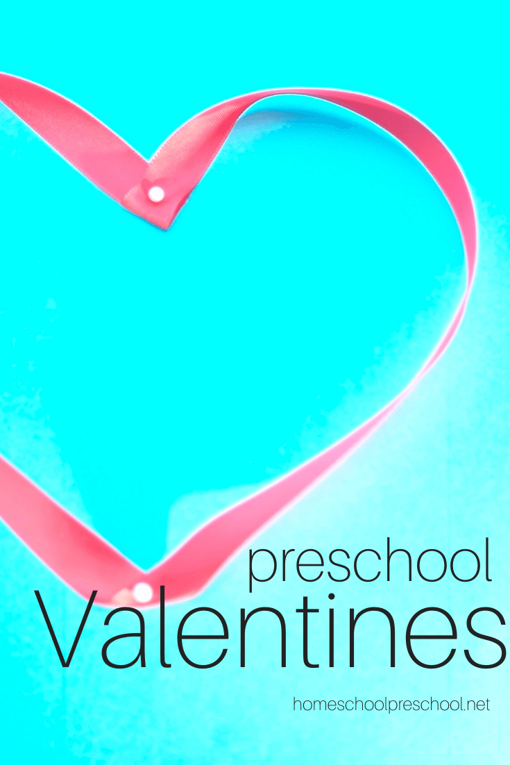 I love incorporating the holidays into my homeschool preschool lessons. With these Valentine's Day activities for preschoolers, you'll be set for the holiday!