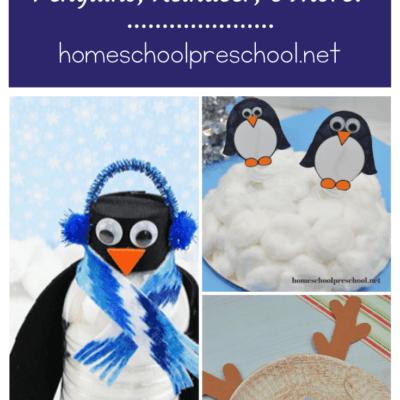 Winter Animals Crafts