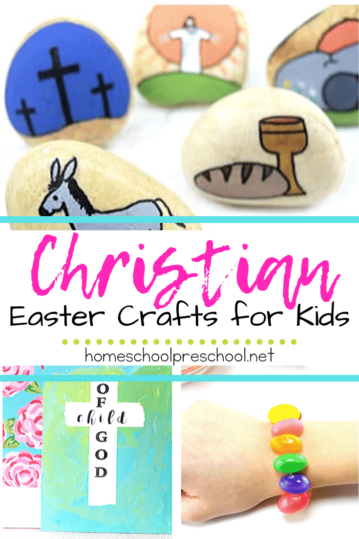 Add these Christian Easter crafts for kids to your upcoming spring holiday activities. You'll find ideas suitable for home and Sunday School settings.