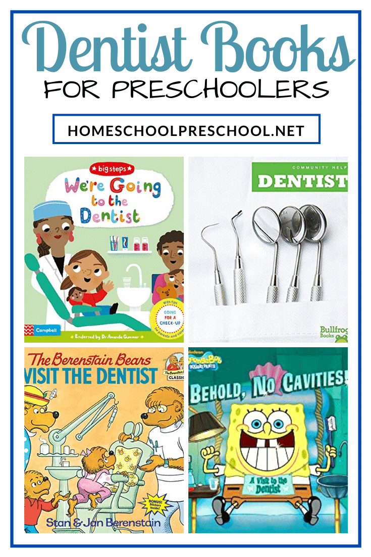 Are you preparing your preschooler for a trip to the dentist? Celebrating National Dentist Day? Studying community helpers? Don't miss these dentist books for preschoolers!