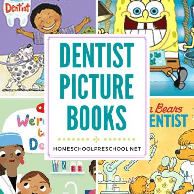 Dentist Books for Preschoolers