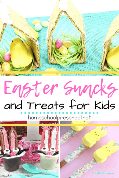 Whether you're looking for classroom treats or holiday surprises, these Easter snacks for preschoolers are sure to be a hit with everyone around!