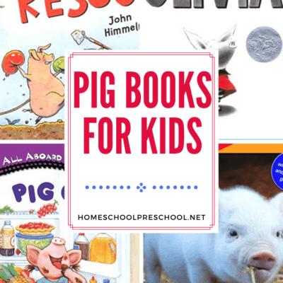 Pig Books for Preschoolers