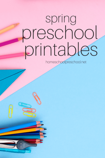 You don't want to miss these spring printables for preschoolers. They'll spice up your preschool lessons about flowers, bugs, and more!