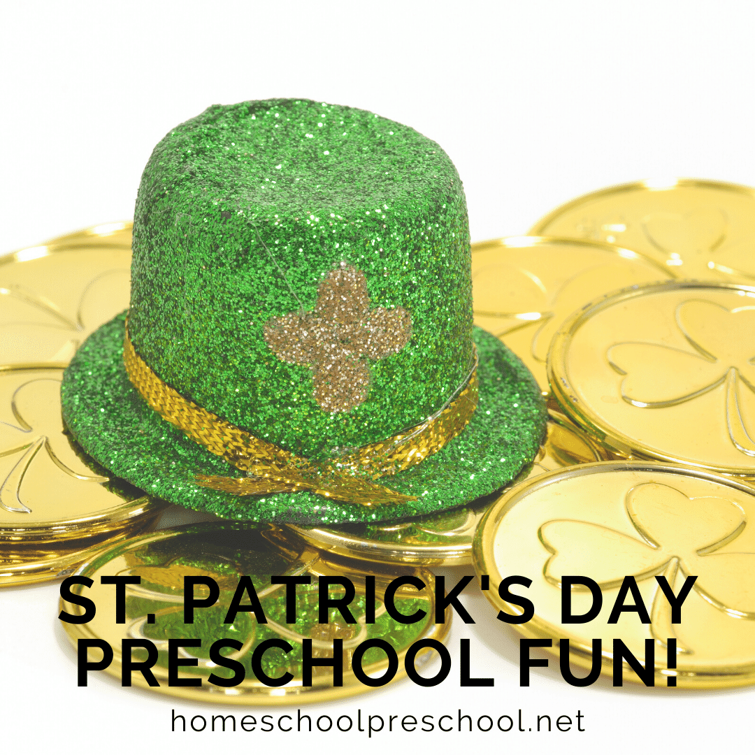 These St Patrick's Day activities for preschoolers will get your little ones in the spirit of leprechauns, lucky charms, and pots of gold at the end of the rainbow!