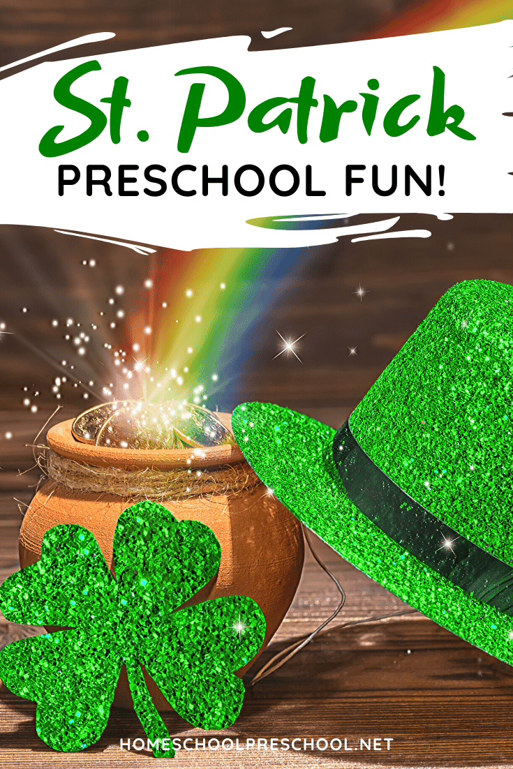 These St Patrick's Day activities for preschoolerswill get your little ones in the spirit of leprechauns, lucky charms, and pots of gold at the end of the rainbow!