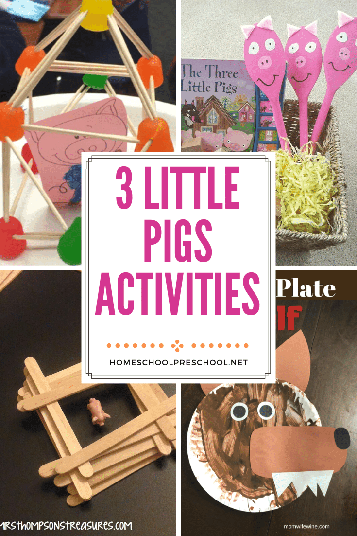 Engaging Three Little Pigs Preschool Activities