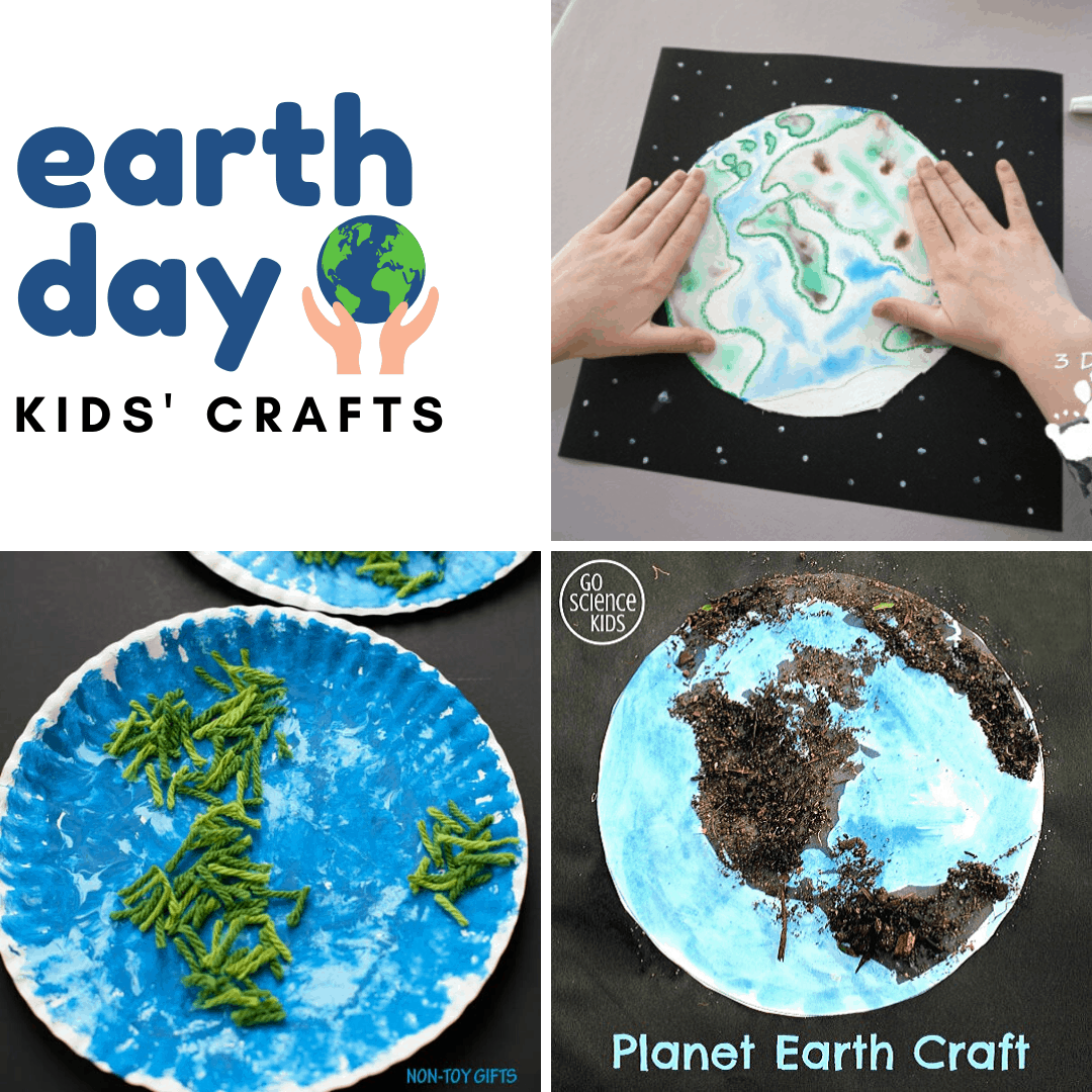 Earth Day is April 22. Celebrate by making one or more of these simple Earth Day crafts for preschoolers. Which will you choose?
