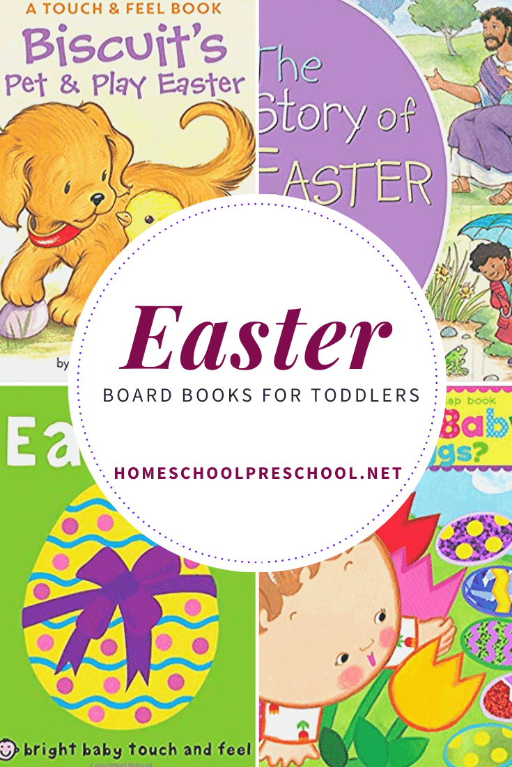 Fill your book shelves with a great collection of Easter books for toddlers! Build fun and engaging Easter traditions with these board books.