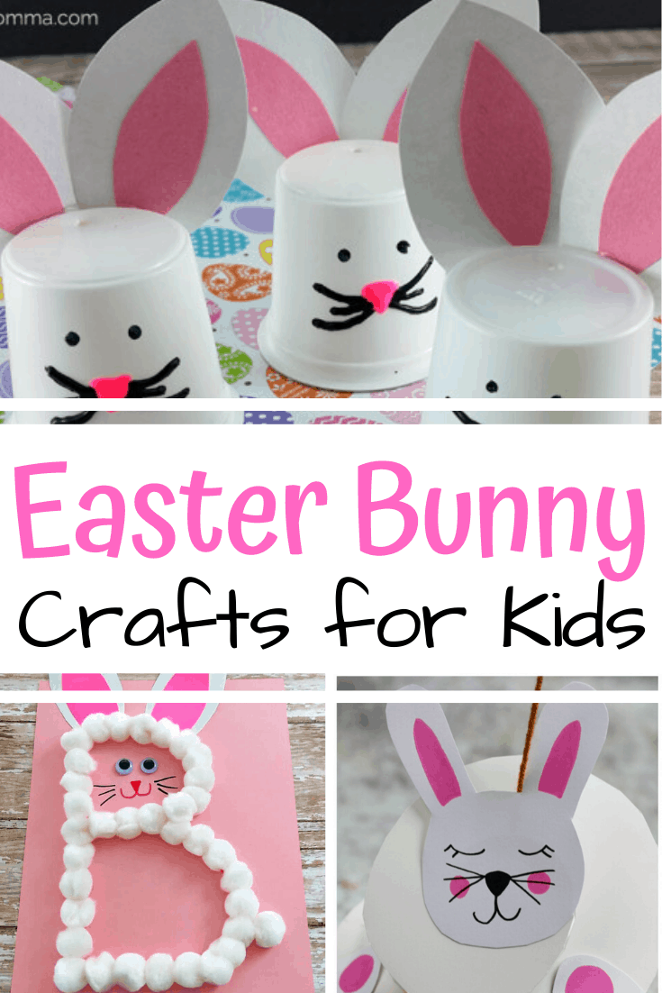 Hop right into spring with these cute and easy Easter bunny crafts for preschoolers that you will love making with your kids!
