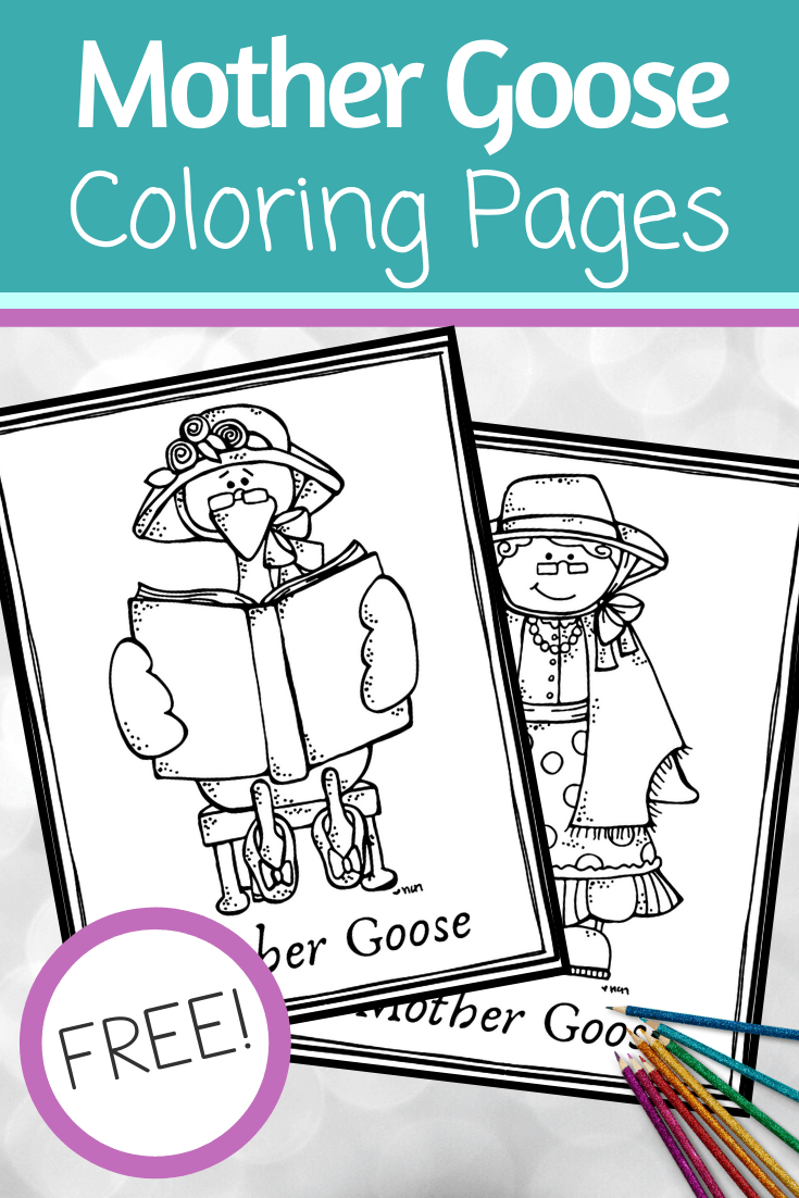 May 1 is Mother Goose Day! You and your kids can celebrate with these fun Mother Goose coloring pages. They're perfect for kids of all ages!