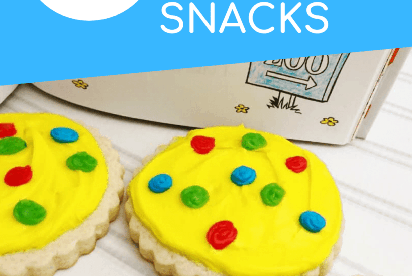 Whether you're celebrating Dr Seuss Week or just looking for a fun snack to pair with your favorite book, check out these simple Dr Seuss snacks for kids!