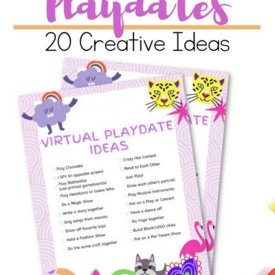 Virtual Playdate Ideas
