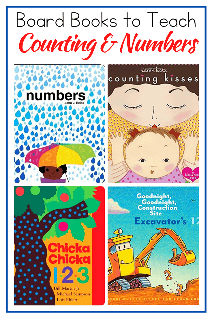 Introduce your little ones to numbers with this awesome collection counting books for toddlers. Board books for numbers, counting, and number words.