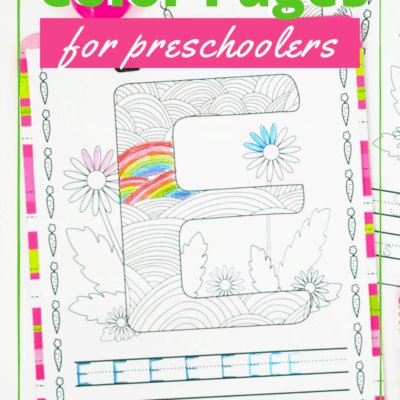 Free Easter Coloring Pages for Preschoolers