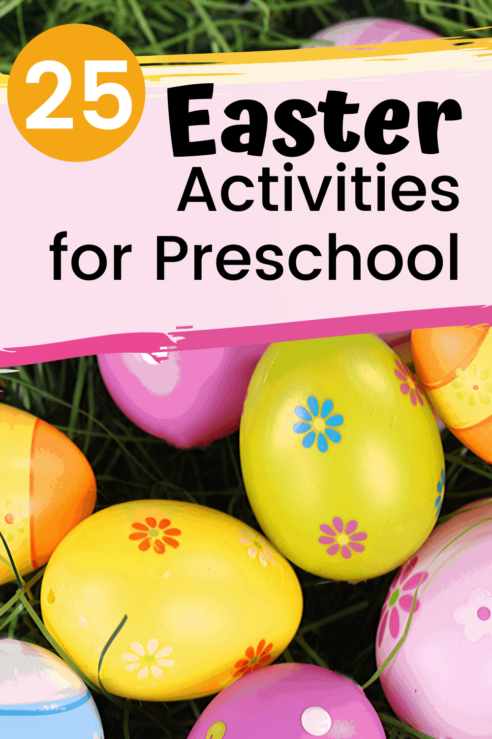 Spring has sprung which means Easter is on its way. You don't want to miss these Easter activities for preschoolers! Books, printables, snacks, and more!