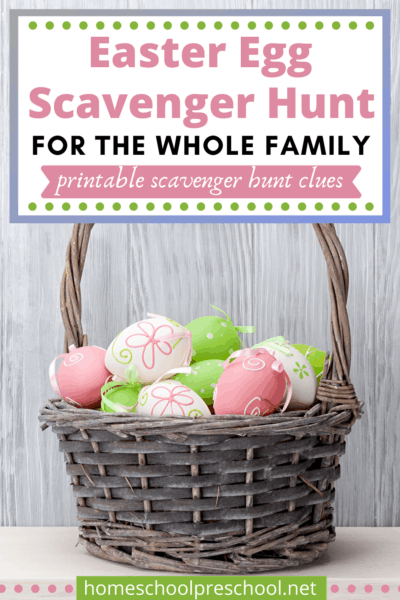 This Easter, make memories by sending your kids on an Easter Egg Scavenger Hunt! Free printable scavenger hunt clues make it easy!