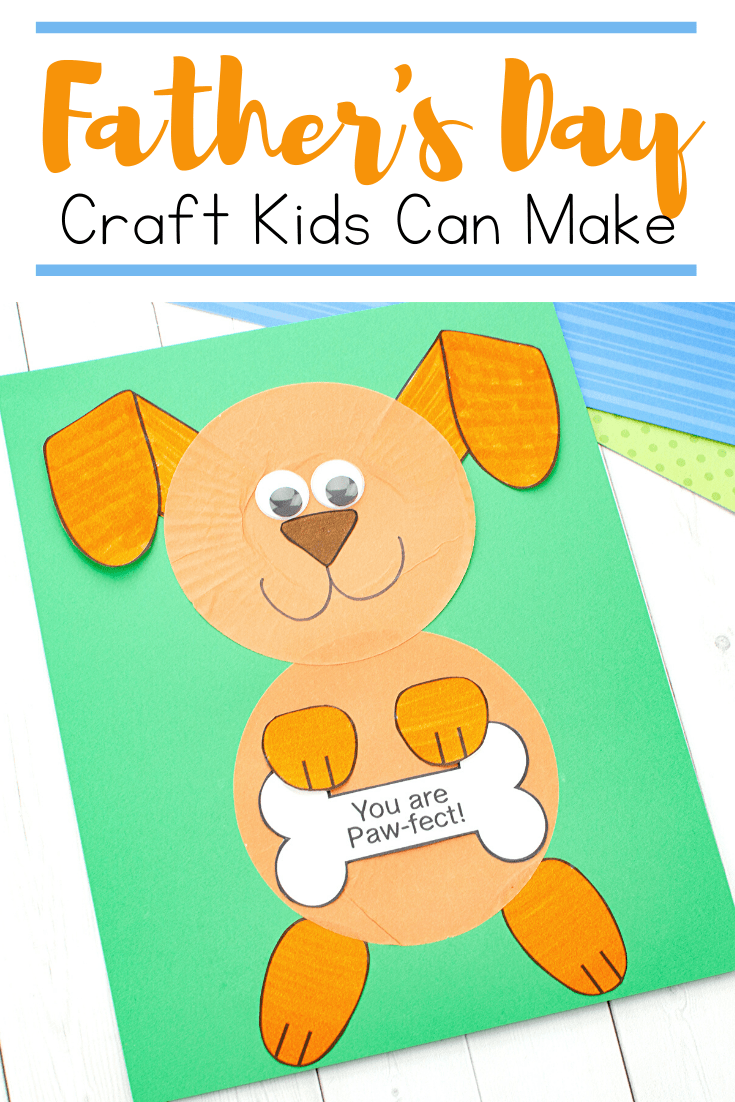 Don't miss this easy Fathers Day craft that kids can make. With just a few simple supplies, kids can show Dad how much they love him!