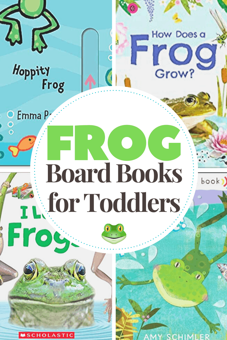This spring, introduce your little ones to frogs with this collection of fiction and nonfiction frog books for toddlers. These board books are the best!