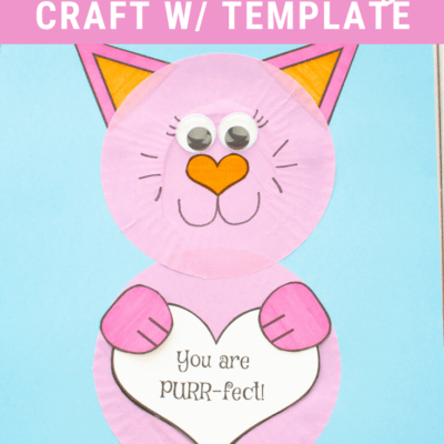 Cupcake Liner Mother's Day Craft for Preschool