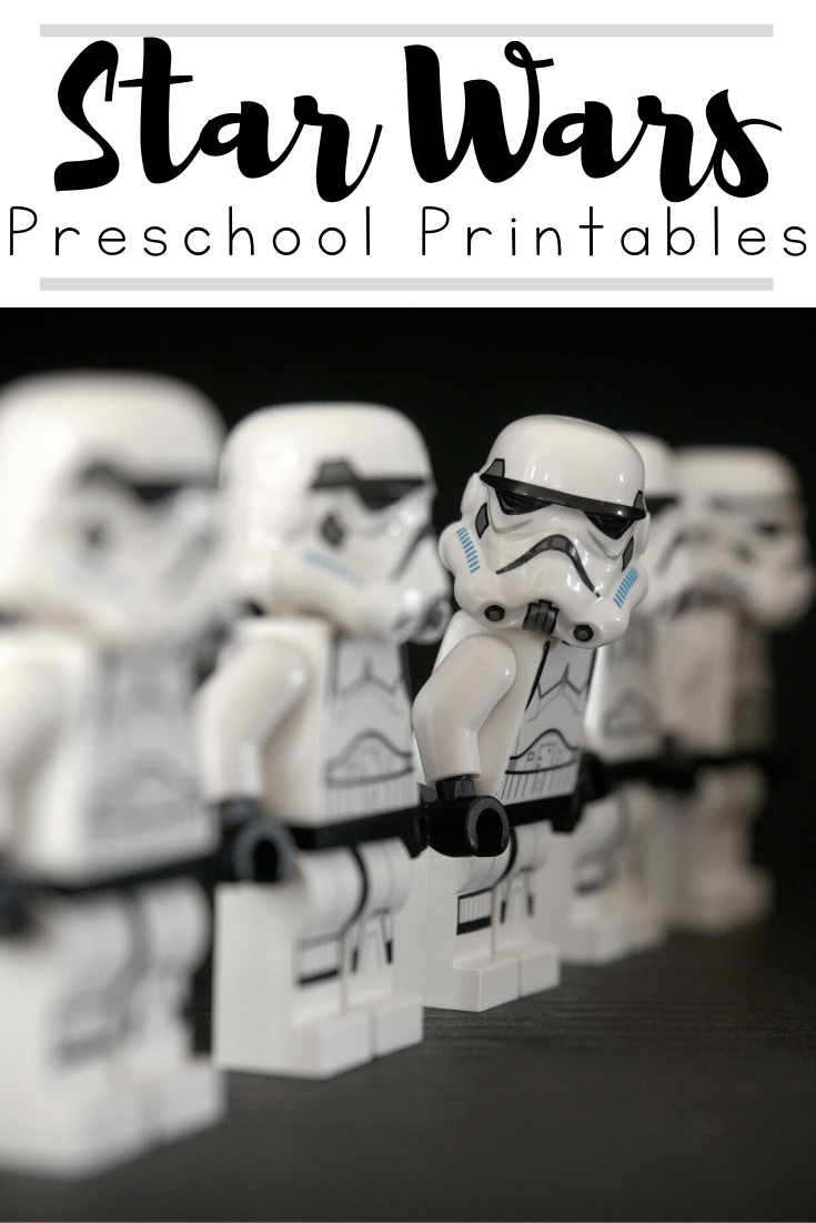 Whether you're celebrating Star Wars Day or just engaging a Star Wars fan, your kids will love these Star Wars preschool printables.
