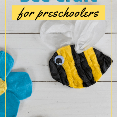 Tissue Paper Bees