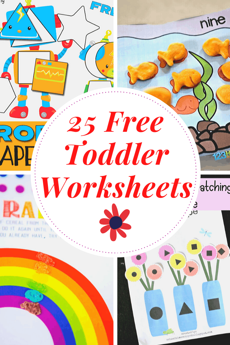 - Free Printable Toddler Worksheets To Teach Basic Skills