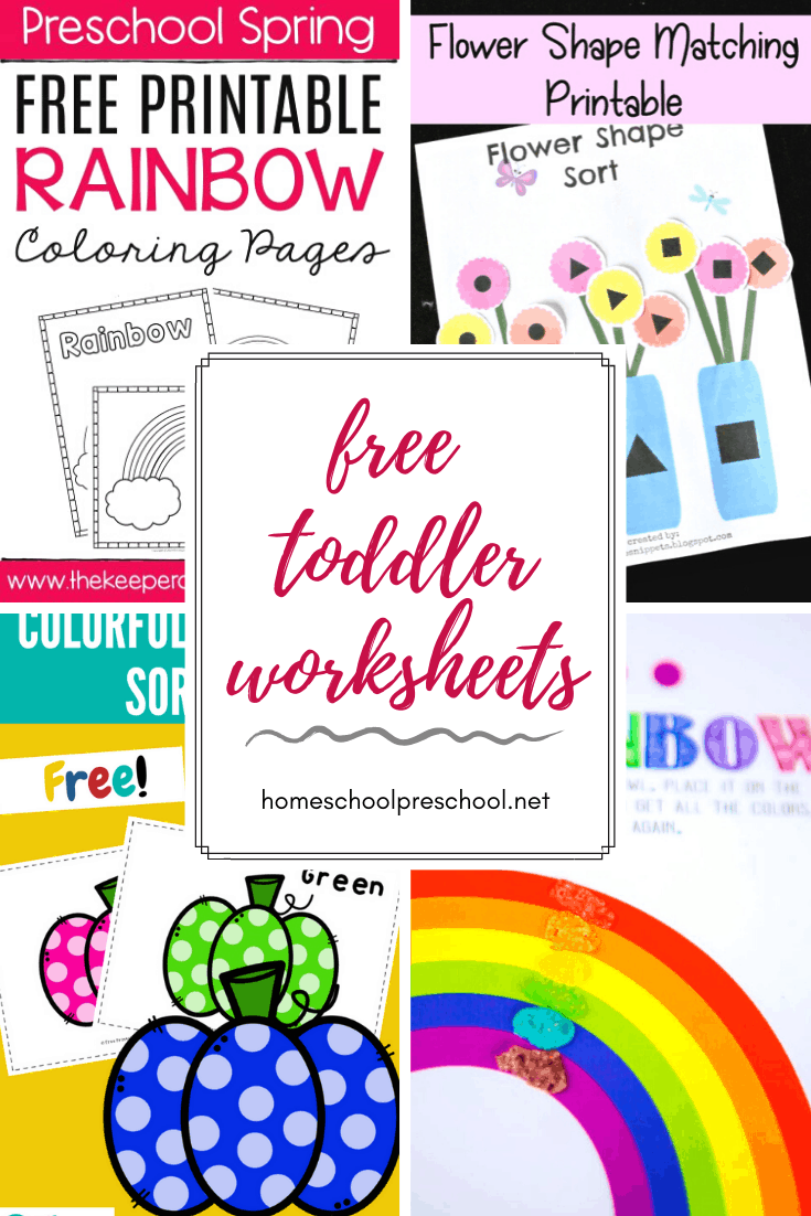- Free Printable Toddler Worksheets To Teach Basic Skills